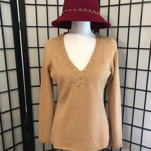 INC Silk and Angora sweater.